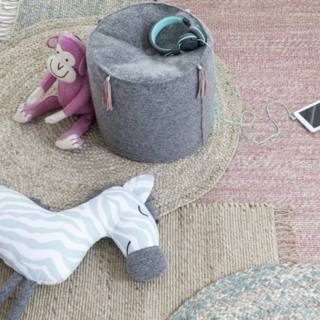 Kidsdepot vloerkleden van jute