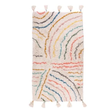 Kidsdepot vloerkleed Berber pastel