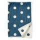 Klippan ledikantdeken Dots dusk blue