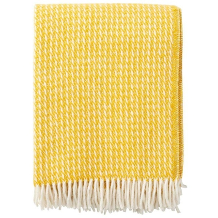 Klippan plaid Line yellow
