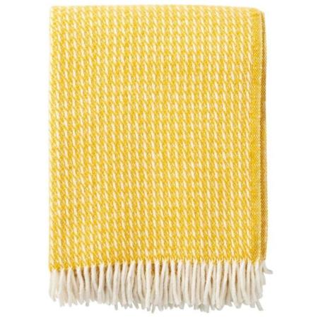 Klippan plaid Line yellow