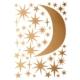Hartendief muurstickers sterren en maan