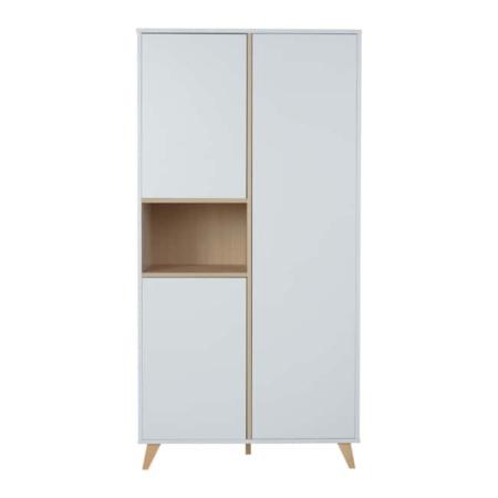 Quax 2 deurskast Loft White