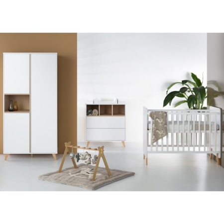 Quax 3 delige babykamer Loft white