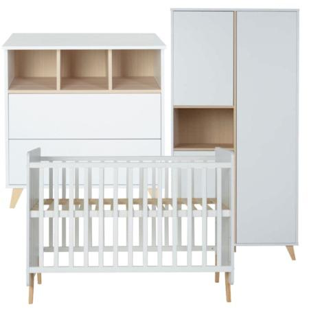 Quax 3 delige babykamer Loft white1