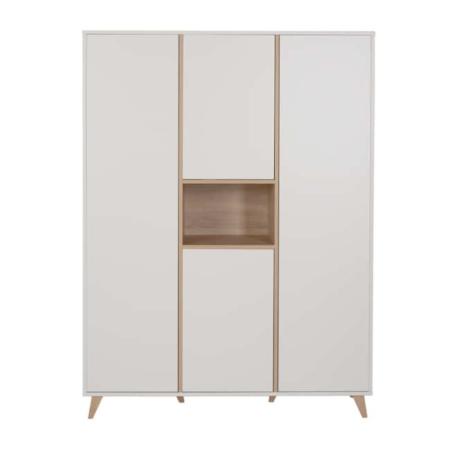 Quax 3 deurskast Loft White