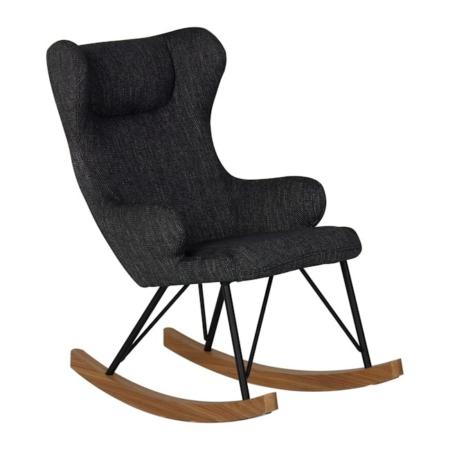 Quax schommelstoel voor kinderen black