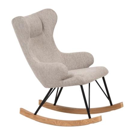 Quax schommelstoel voor kinderen sand grey