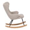 Quax schommelstoel voor kinderen sand grey1