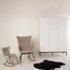 Quax schommelstoelen Sand Grey