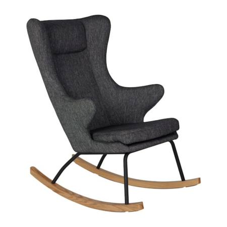 Rocking Adult Chair De Luxe Black