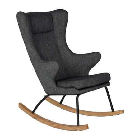 Rocking Adult Chair De Luxe Black