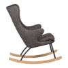 Rocking Adult Chair De Luxe Black2