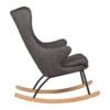 Rocking Adult Chair De Luxe Black2