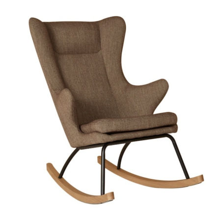 Rocking Adult Chair De Luxe Latte