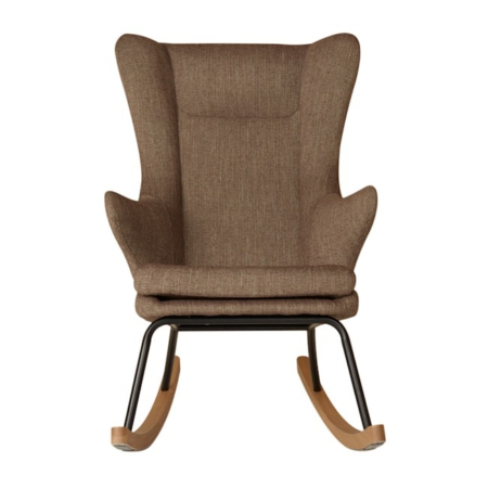 Rocking Adult Chair De Luxe Latte1