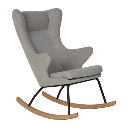 Rocking Adult Chair De Luxe Sand Grey
