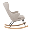 Rocking Adult Chair De Luxe Sand Grey2