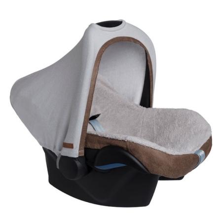 Baby's Only autostoelhoes en zonnekap Rock taupe