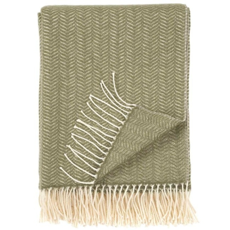 Klippan plaid Tippy olive