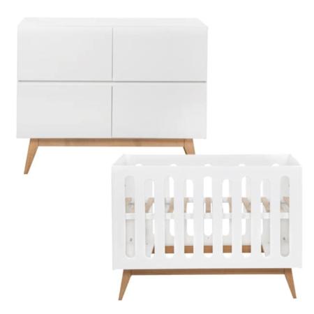 Quax Trendy 2 delige babykamer White