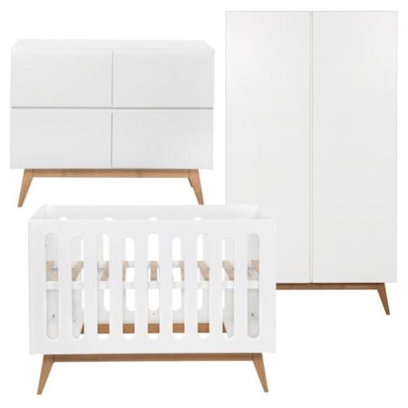 Quax Trendy 3 delige babykamer White