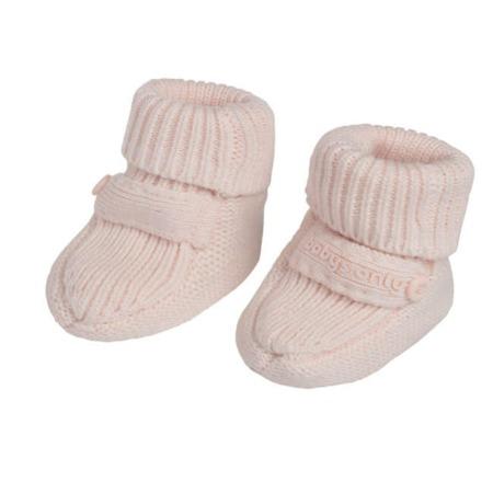 Baby's Only slofjes Newborn Knit classic roze