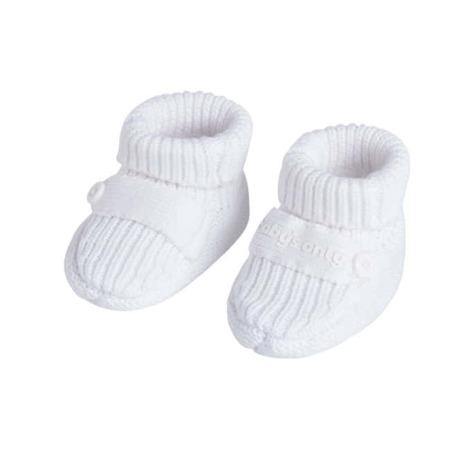Baby's Only slofjes Newborn Knit wit