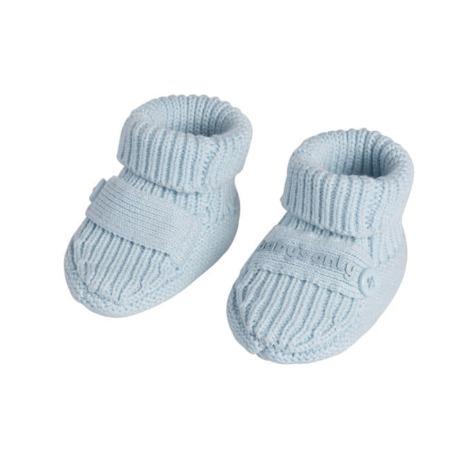 Baby's Only slofjes Newborn Knit baby blauw