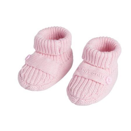Baby's Only slofjes Newborn Knit baby roze