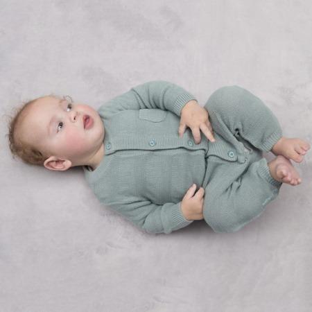 Baby's Only boxpakje Streep stonegreen sfeer