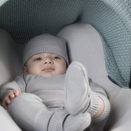 Baby's Only mutsje Newborn grijs sfeer