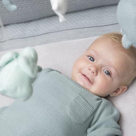 Baby's Only rompertje lange mouw Streep Stonegreen
