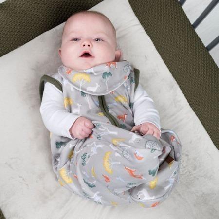 Baby's Only slaapzak en bandana Forest Khaki