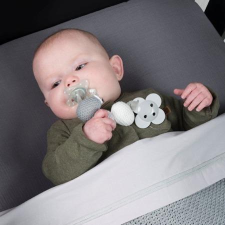 Baby's Only speenkoord grijs sfeer