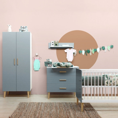 Bopita 3 delige babykamer Emma sfeer