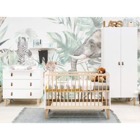 Bopita 3 delige babykamer Indy met 2 deurskast sfeer