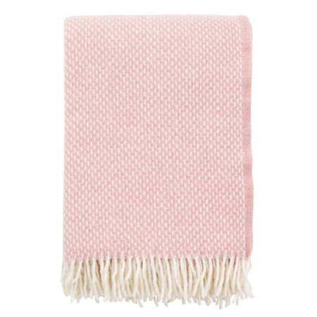 Klippan plaid Preppy misty rose