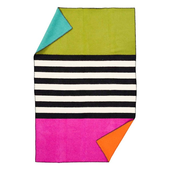 Klippan wollen deken Blanket for Live thin stripe