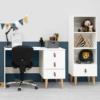 Bopita Indy bureau en boekenkast sfeer