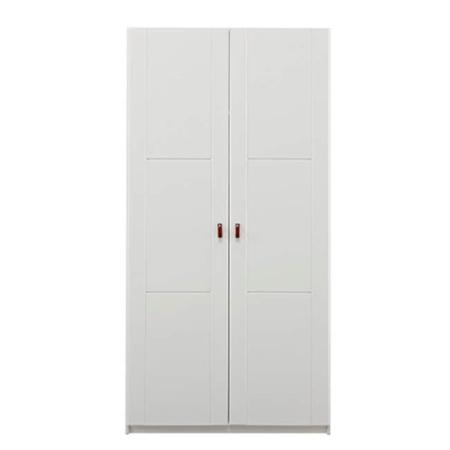 Lifetime 2 deurskast wit