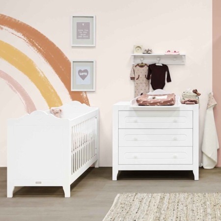 Bopita 2 delige babykamer Evi sfeer