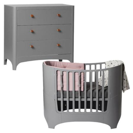 Leander 2 delige babykamer grey