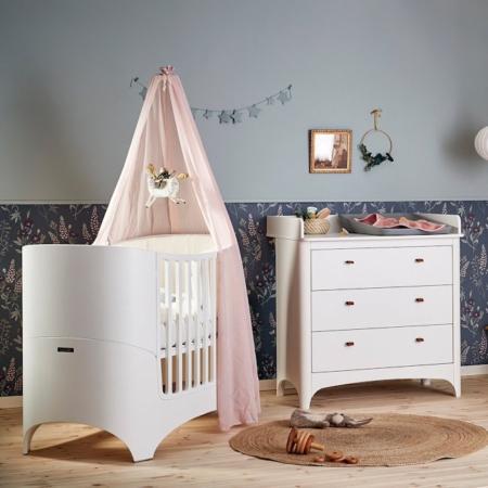 Leander 2 delige babykamer white sfeer