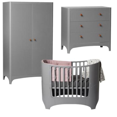 Leander 3 delige babykamer grey