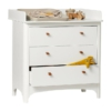 Leander Classic commode met changing unit white