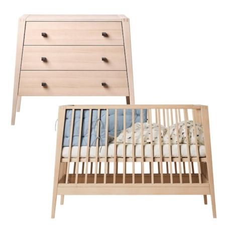 Leander Linea 2 delige babykamer beuken
