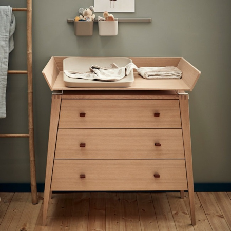 Leander Linea commode met changing unit eiken sfeer