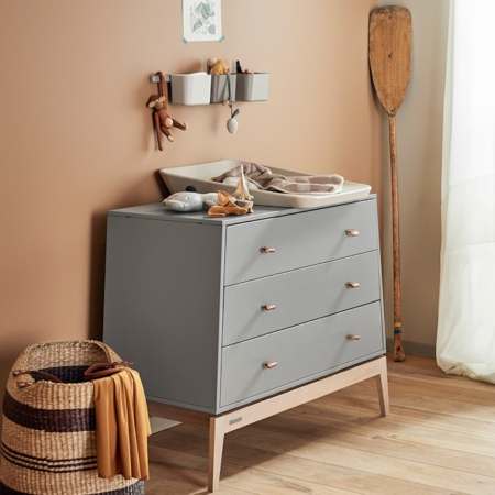 Leander Luna commode grey sfeer