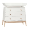 Leander Luna commode white met changing unit